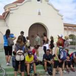 En la ermita de San Crispín, últimos dos kilómetros