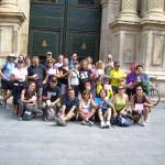 Foto final de grupo en Sta. María