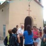 Ermita de la Virgen del Carmen, en Matola, donde nos recibió su cura párroco.